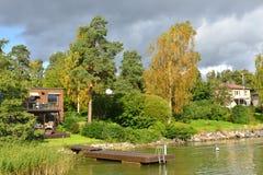 Νησιά του Ελσίνκι Στοκ φωτογραφία με δικαίωμα ελεύθερης χρήσης