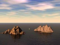 νησιά Στοκ Εικόνες