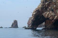 νησιά ballestas στοκ φωτογραφία με δικαίωμα ελεύθερης χρήσης
