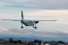 νησιά blas πέρα από τον προωστήρα SAN αεροπλάνων του Παναμά στοκ εικόνες με δικαίωμα ελεύθερης χρήσης