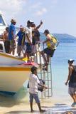 ΝΗΣΙΆ GILI, ΙΝΔΟΝΗΣΊΑ - 22 ΜΑΡΤΊΟΥ: Τα νησιά Gili είναι μικρά τροπικά νησιά Στοκ Φωτογραφίες