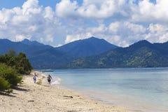 ΝΗΣΙΆ GILI, ΙΝΔΟΝΗΣΊΑ - 22 ΜΑΡΤΊΟΥ: Τα νησιά Gili είναι μικρά τροπικά νησιά Στοκ φωτογραφίες με δικαίωμα ελεύθερης χρήσης
