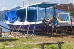 ΝΗΣΙΆ GILI, ΙΝΔΟΝΗΣΊΑ - 22 ΜΑΡΤΊΟΥ: Τα νησιά Gili είναι μικρά τροπικά νησιά Στοκ εικόνα με δικαίωμα ελεύθερης χρήσης