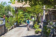 ΝΗΣΙΆ GILI, ΙΝΔΟΝΗΣΊΑ - 22 ΜΑΡΤΊΟΥ: Τα νησιά Gili είναι μικρά τροπικά νησιά Στοκ Φωτογραφία