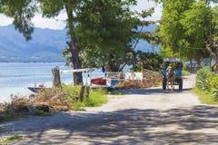 ΝΗΣΙΆ GILI, ΙΝΔΟΝΗΣΊΑ - 22 ΜΑΡΤΊΟΥ: Τα νησιά Gili είναι μικρά τροπικά νησιά Στοκ Εικόνες