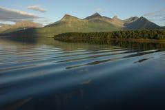 Νησιά Lofoten τοπίων Στοκ Εικόνα