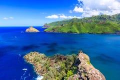 Νησιά Marquesas, Nuku Hiva στοκ εικόνες