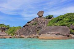 Νησιά Similan, Ταϊλάνδη Στοκ εικόνα με δικαίωμα ελεύθερης χρήσης