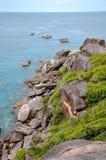 νησιά similan Ταϊλάνδη Στοκ φωτογραφίες με δικαίωμα ελεύθερης χρήσης
