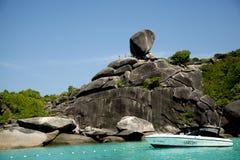 νησιά similan Στοκ φωτογραφίες με δικαίωμα ελεύθερης χρήσης