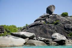 νησιά similan Στοκ εικόνα με δικαίωμα ελεύθερης χρήσης