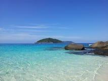 νησιά similan Στοκ Φωτογραφία