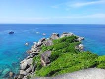 νησιά similan Στοκ Εικόνες