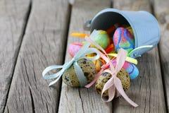νησοπέρδικες αυγών Πάσχας Στοκ φωτογραφίες με δικαίωμα ελεύθερης χρήσης