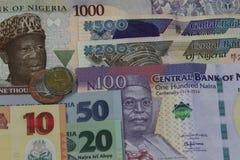 Νιγηριανά χρήματα Στοκ Φωτογραφία