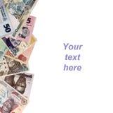 Νιγηριανό πλαίσιο χρημάτων Στοκ εικόνα με δικαίωμα ελεύθερης χρήσης