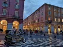ΝΙΚΑΙΑ, ΓΑΛΛΙΑ - 16 ΑΥΓΟΎΣΤΟΥ 2018: Θέση Massena της Νίκαιας στοκ εικόνα με δικαίωμα ελεύθερης χρήσης