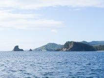 Νικαραγουανή ακτή Στοκ Εικόνες