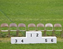 νικητές εξεδρών Στοκ Φωτογραφίες