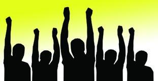 νικητές Στοκ εικόνες με δικαίωμα ελεύθερης χρήσης