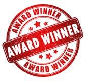 νικητής γραμματοσήμων βραβείων Στοκ φωτογραφία με δικαίωμα ελεύθερης χρήσης