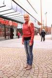 Νικητής διαγωνισμού τρεξίματος Stilleto Στοκ Φωτογραφίες