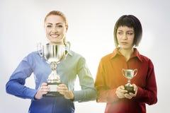 Νικητής και ηττημένοι Στοκ εικόνα με δικαίωμα ελεύθερης χρήσης
