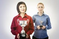 Νικητής και ηττημένοι Στοκ Φωτογραφίες