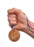 Νικητής μεταλλίων Στοκ εικόνα με δικαίωμα ελεύθερης χρήσης