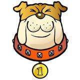 νικητής σκυλιών κινούμεν&omega Στοκ Εικόνες