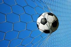 Νικητής στόχου ποδοσφαίρου Στοκ εικόνες με δικαίωμα ελεύθερης χρήσης