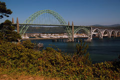 Νιούπορτ Η γέφυρα Στοκ φωτογραφία με δικαίωμα ελεύθερης χρήσης