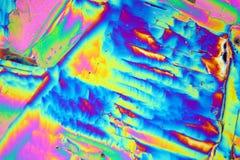 Νιτρικό άλας όλμιου κάτω από το μικροσκόπιο Στοκ φωτογραφίες με δικαίωμα ελεύθερης χρήσης