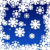 Νιφάδα του χιονιού διανυσματική απεικόνιση