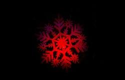 Νιφάδα χιονιού Στοκ Φωτογραφίες