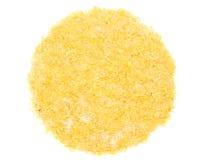 Νιφάδες σίτου με τη ζάχαρη Στοκ Εικόνες
