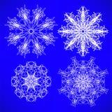 Νιφάδες χιονιού Στοκ εικόνα με δικαίωμα ελεύθερης χρήσης