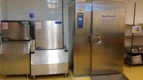 11 Νοεμβρίου 2016, Κουάλα Λουμπούρ Ο σύγχρονος εξοπλισμός κουζινών ξενοδοχείων Στοκ Φωτογραφίες