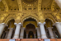 13 Νοεμβρίου 2014: Στυλοβάτες του pala Thirumalai Nayakkar Mahal Στοκ Φωτογραφίες