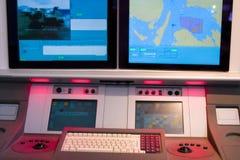 νοημοσύνη κονσολών στρατ&i Στοκ Φωτογραφίες