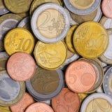 νομίσματα ανασκόπησης Στοκ Εικόνα