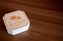 Νομίσματα γαμήλιων δώρων Στοκ φωτογραφίες με δικαίωμα ελεύθερης χρήσης