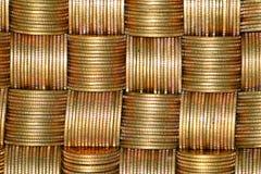 νομίσματα δεσμών Στοκ φωτογραφία με δικαίωμα ελεύθερης χρήσης