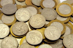 νομίσματα διαφορετικά Στοκ φωτογραφία με δικαίωμα ελεύθερης χρήσης