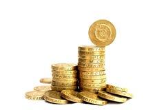 Νομίσματα λιβρών Στοκ εικόνα με δικαίωμα ελεύθερης χρήσης