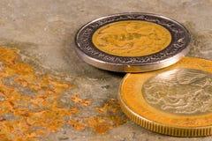 νομίσματα οικονομικά Στοκ Φωτογραφία