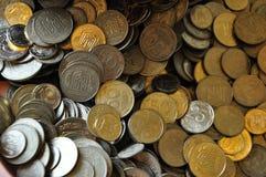νομίσματα Ουκρανός ανασ&kapp Στοκ εικόνα με δικαίωμα ελεύθερης χρήσης