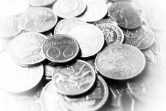 νομίσματα παλαιά Στοκ φωτογραφίες με δικαίωμα ελεύθερης χρήσης