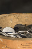 νομίσματα παλαιά Στοκ Φωτογραφίες