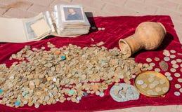 νομίσματα παλαιά Στοκ Εικόνα